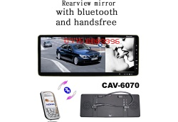 BlueTooth Stereo Handsfree Car Rearview Mirror