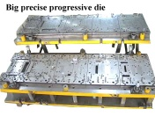 Big precise progressive die