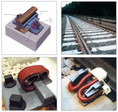 rail clamp/ rail anchor plate/ fish plate/ base plate