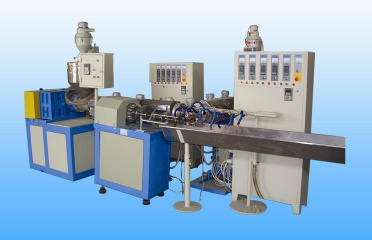 PVC reinforced hose extrusion machine