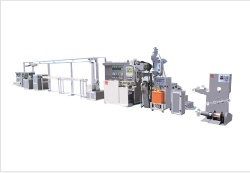 Electrical wire & cable extrusion line - CTI005