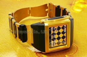 Stainless Steel Watch Mobile Phone - TMK111