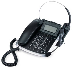headset telephone