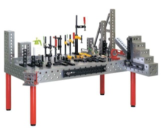 3D modular welding table system - TIPTOP Industrial