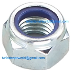 Stainless Steel Nylon Insert Nuts - DIN 985
