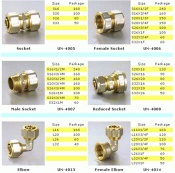 Aluminum Plastic Multi-layer Pipe Fittings