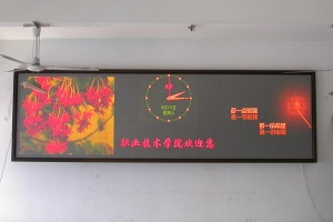 indoor bi-color screen