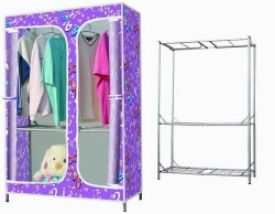 Large Size Wardrobe with Easily to Install Within One Minute