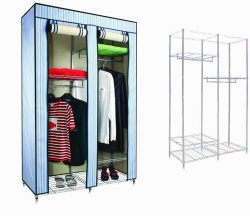 Outsize Wardrobe with Shutter&Broad Range of Storage Space