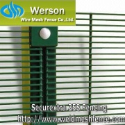 Securextra 358 Maximum Security Fencing From Werson Security Fencing - WERSON-S358SF