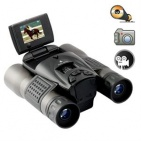 Wholesalespycams Long Range DVR Camera Binoculars w/ 1.5 Flip Screen - Wholesalespycams1