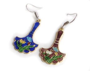 cloisonne earing