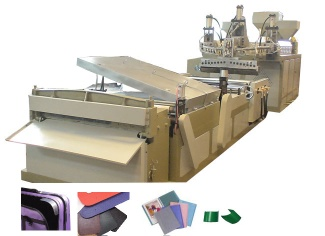 low foam plastic sheet extruder