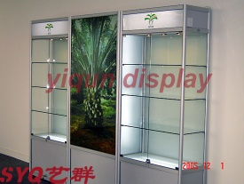 furniture/counter/advertisement/hexagon/hexagonal/shelves/show case