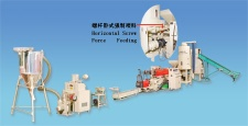 Double-Section 3 in 1 Plastic Waste Recycling Machine (Granulator)