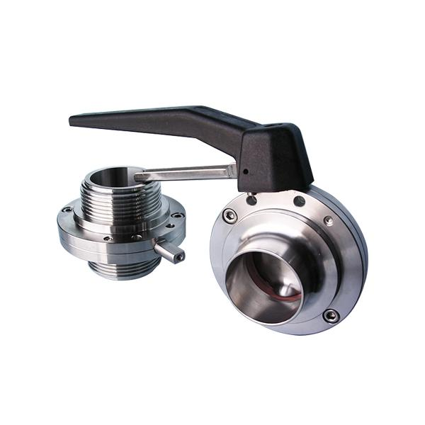 DIN Butterfly Valve - Weld end / Male end!!salesprice