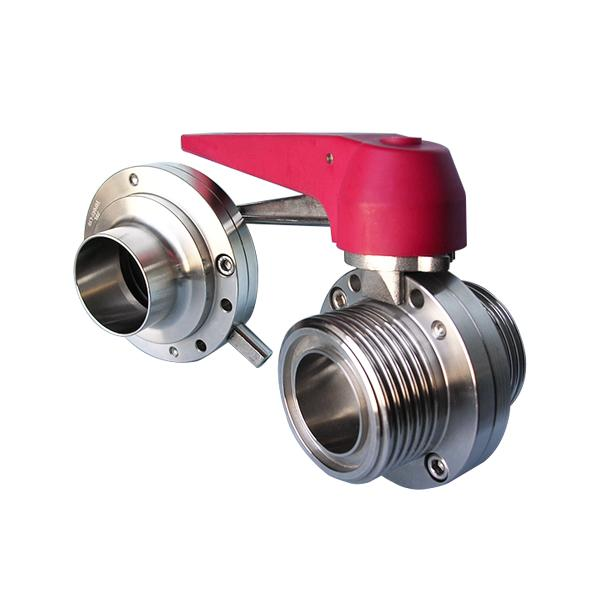 SMS Butterfly Valve - Weld End / Male End!!salesprice