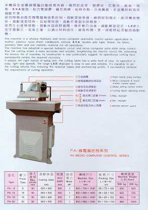 High Speed Hydraulic Cutting Machine