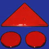 Triangle Reflector Red - 034308