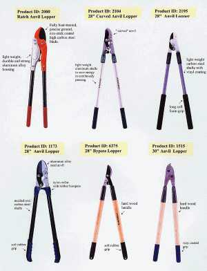 Lopping Shears - Special designs to save strength but make effective cutting force - P03