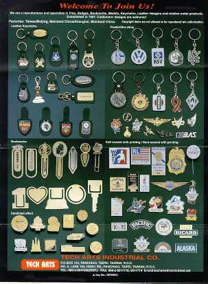 Pins, Badges, Bookmarks, Medals...