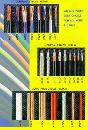 Computer Cable, Coaxial Cable & Audio - Video Cable