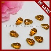 Decorative Colored Glass Teardrop Stone Beads - Teardrop cut