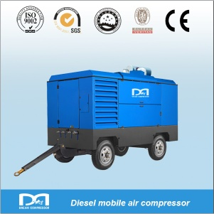 Portable Screw Air Compressors - DMCY-9/14
