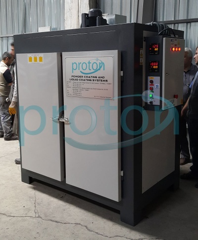 BIG POWDER COATING OVEN - OVEN