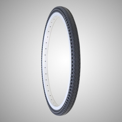 24*1-3/8 Inch Air Free Solid Tire for Bicycle - Nedong24183