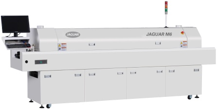jaguar 6 heating zones with computer control reflow oven - M6