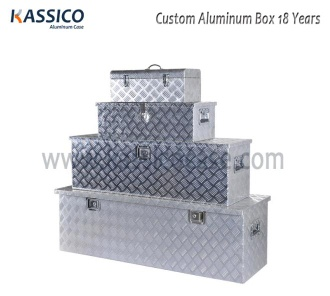 Aluminum Utility Tool Storage Boxes For Trailer & UTE - KSC-AC012