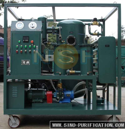 Mobile Waste Oil Recycling To Base Oil Machine - VFD