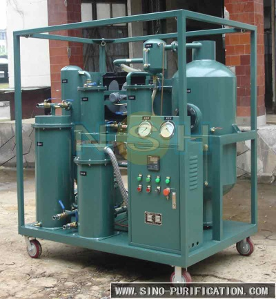High efficiency vacuum lubricating oil recycling machine - LV
