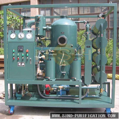 China Supplier Filter Oil Machine/transformer Oil Regeneration Purifier - VFD-R