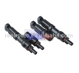 solar panels price with T 2 to 1branch type bnc connector - RHT-PV-604