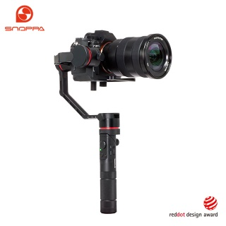 3-axis motorized handheld gimbal active stabilizer for smartphones video cameras clamp - Kylin M