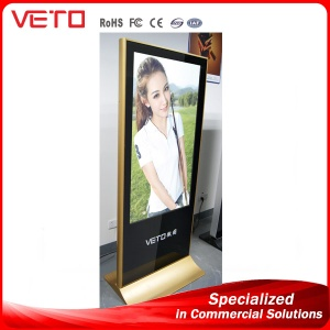 70 inch indoor vertical LCD advertisement display player - VT70KI01
