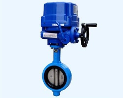 Motorized Electric Butterfly Valve,high temperature butterfly valve - BND02