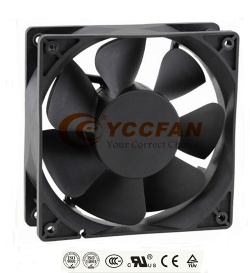4 inch 12038 12V 24V brushless DC small Axial fan 120x120x38 mm - DC axial  fan