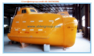 TEMPSC  Totally Enclosed Motor Propelled Survival Craft - AGI201701