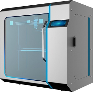 3D printer is a large printer with print volume up to 410 x 410 x410 mm  for Industry use hence the quality and price tag - A17