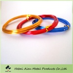 colored aluminum jewellry wire - aien-002