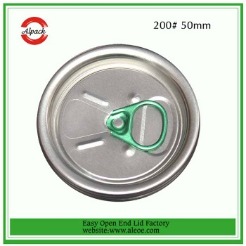 Hot Easy Open End Pop-top Cap of Plastic Can PET Jar - beverage lid