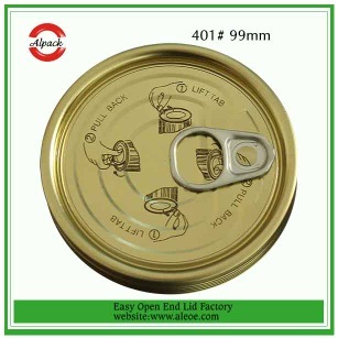 The Most Popular Easy Open End Factory - food lid