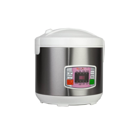 700W Stainless Steel Non-stick 5L Multifunction Smart Rice Cooker - FLK-T68DYM