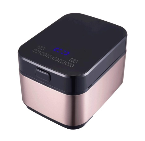 4L Stainless Steel Touch Control Low Sugar Rice Cooker for Diabetic Patient - ALK410-01