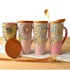 Glazed Relief Mug - MH-05