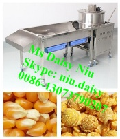 automatic caramel popcorn making machine