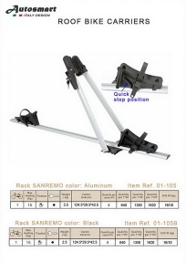 roof bike carrier - roof bike carrier